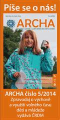 Archa č. 5/2014 píše o letních táborech. A nejen o nich