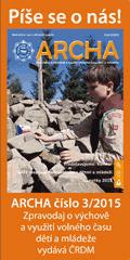 Archa číslo 3/2015 zachytila jarní dění v dětských spolcích